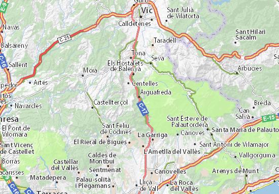 Mappe-Piantine Aiguafreda