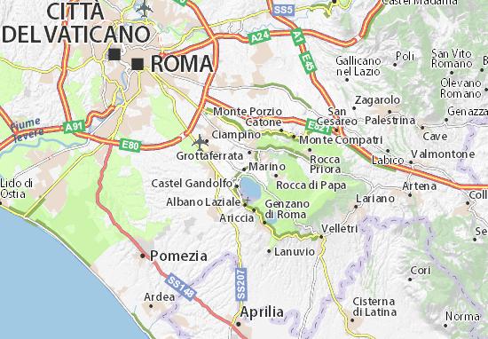 Carte-Plan Marino