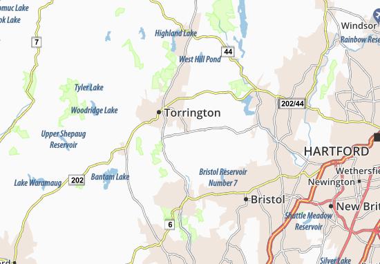 Harwinton Map
