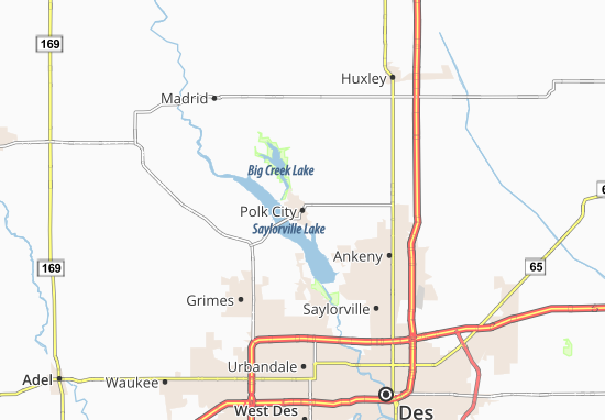 Polk City Map