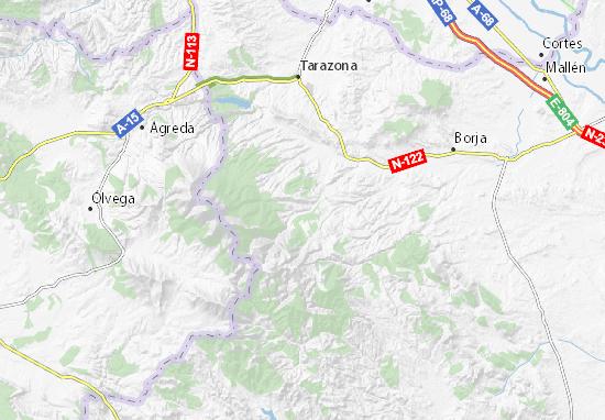 Anon De Moncayo Map Detailed Maps For The City Of Anon De Moncayo