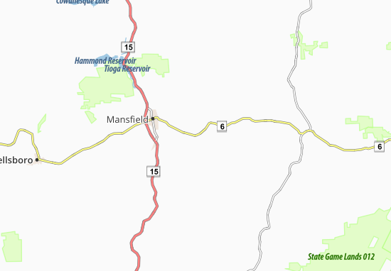 Carte-Plan Mainesburg