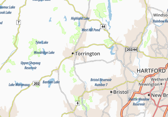 Northwest Harwinton Map