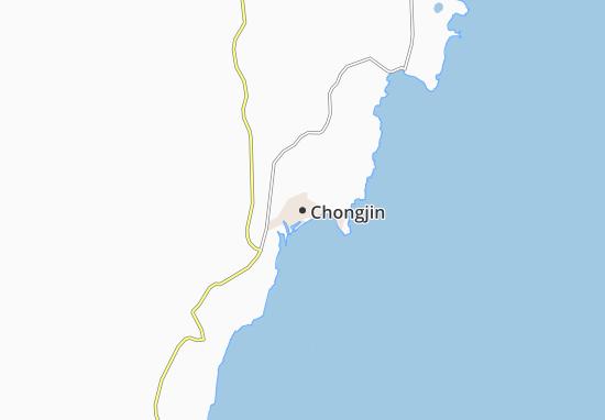 Mappe-Piantine Chongjin