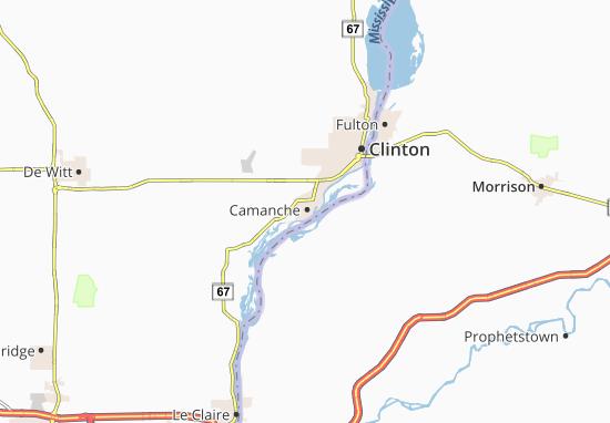 Camanche Map