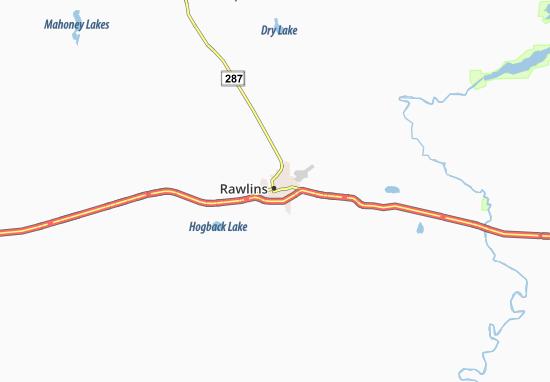 Rawlins Map