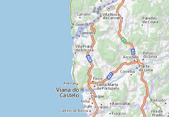 Freixieiro de Soutelo Map