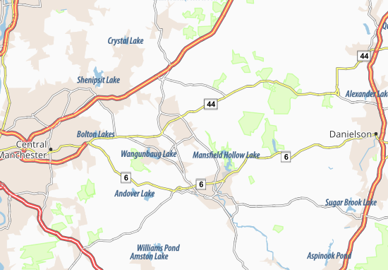 Storrs Map