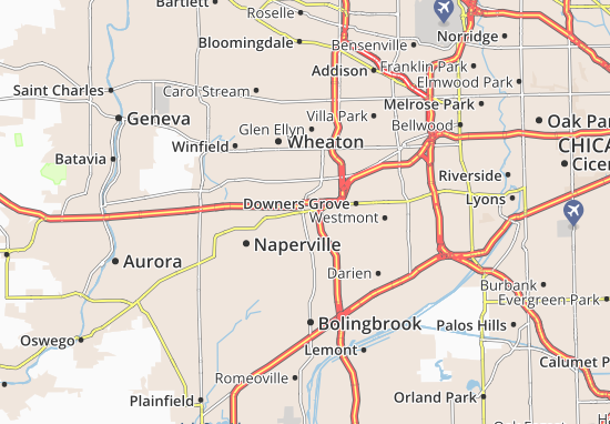 Lisle Map