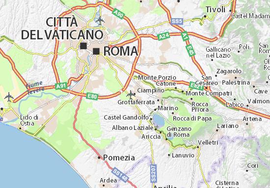 Mappe-Piantine Ciampino