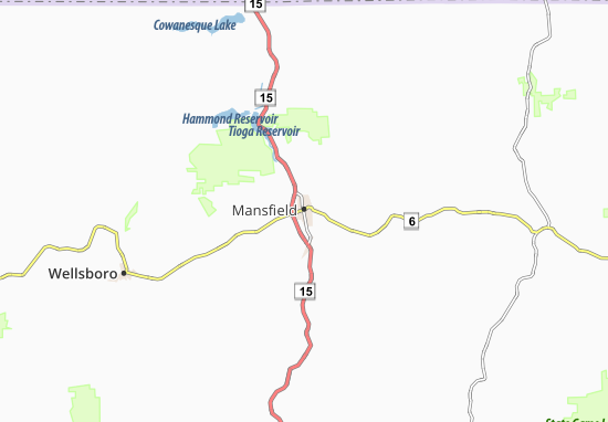 Mappe-Piantine Mansfield