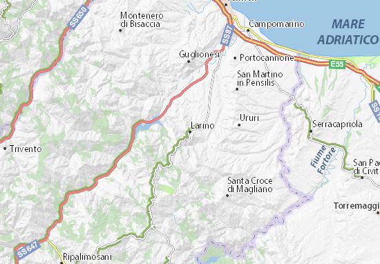 Mapas-Planos Larino