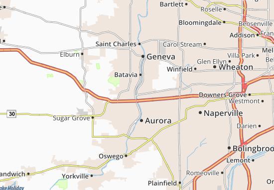 Mapas-Planos North Aurora