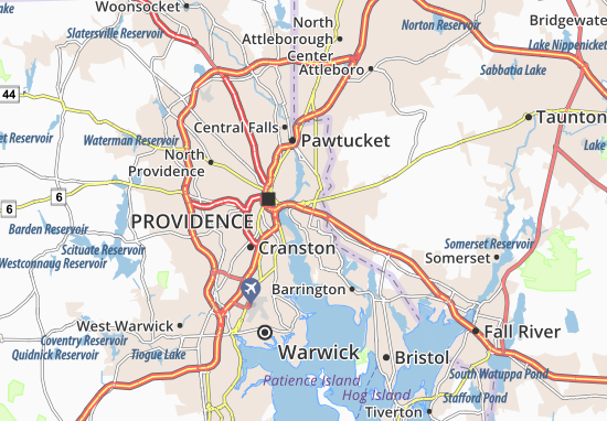 East Providence Map
