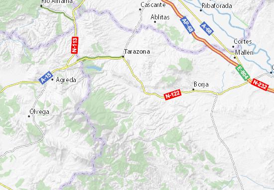 Vera De Moncayo Map Detailed Maps For The City Of Vera De Moncayo
