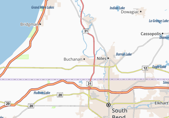 Mappe-Piantine Buchanan