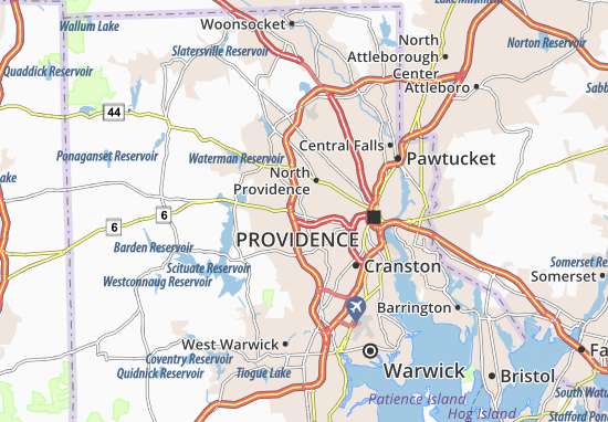 Johnston Map