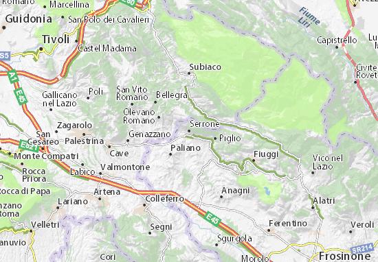 Mappe-Piantine Serrone
