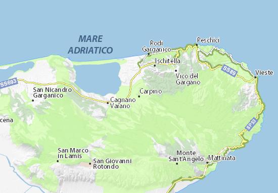 Mapas-Planos Carpino