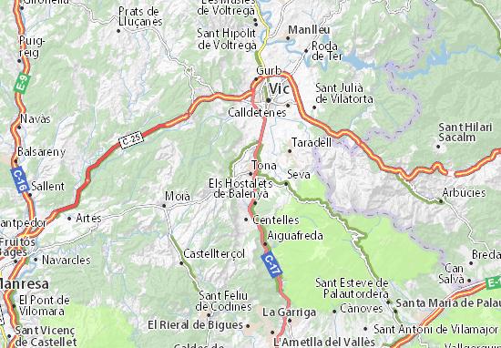 Tona Map