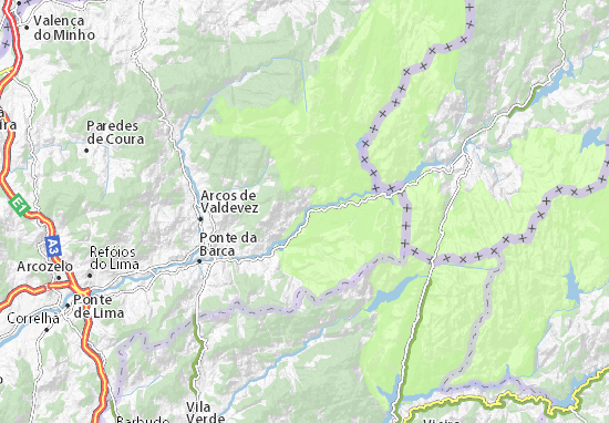 ermelo kaart Kaart van Ermelo  plattegrond van Ermelo  ViaMichelin