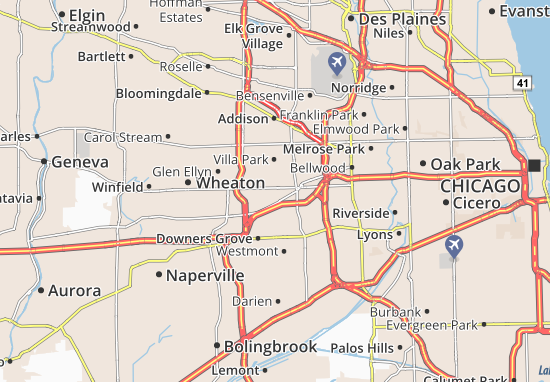 York Center Map