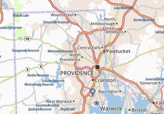 North Providence Map