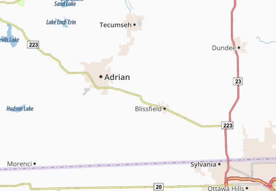 Palmyra Map