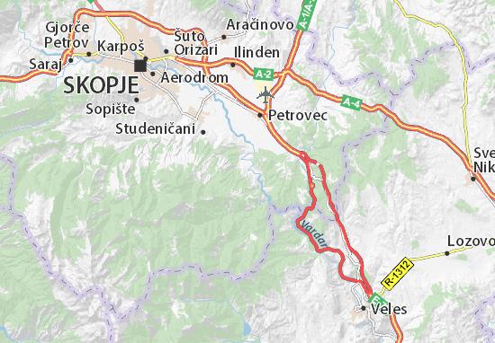 Zelenikovo Map