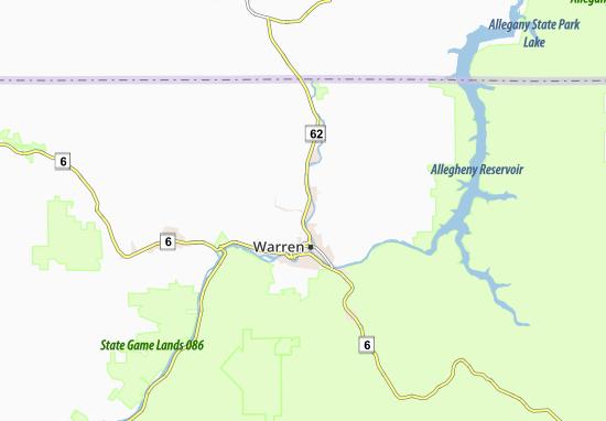 North Warren Map