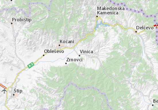Vinica Map