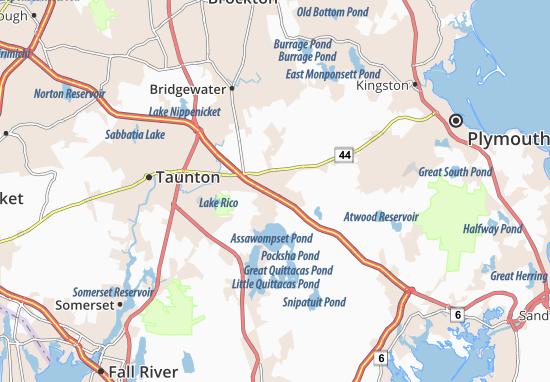 Mapas-Planos Middleborough Center