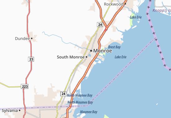 Mapas-Planos South Monroe