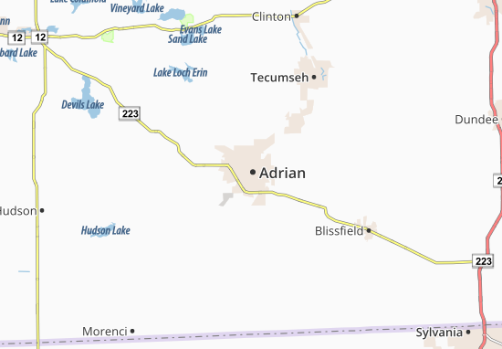 Adrian Map