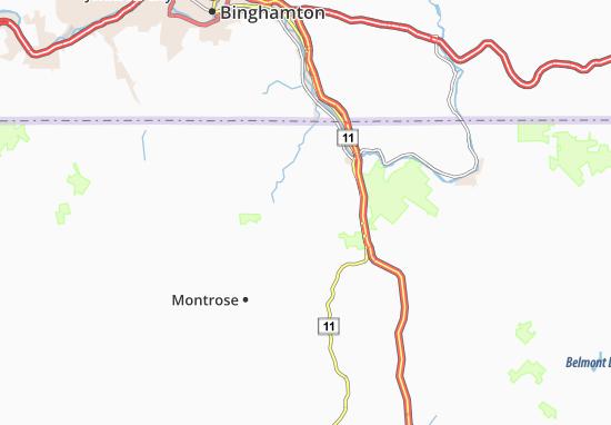 Upsonville Map