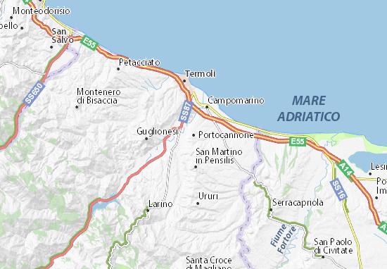 Mappe-Piantine Portocannone