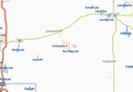 Carte-Plan Hillsdale