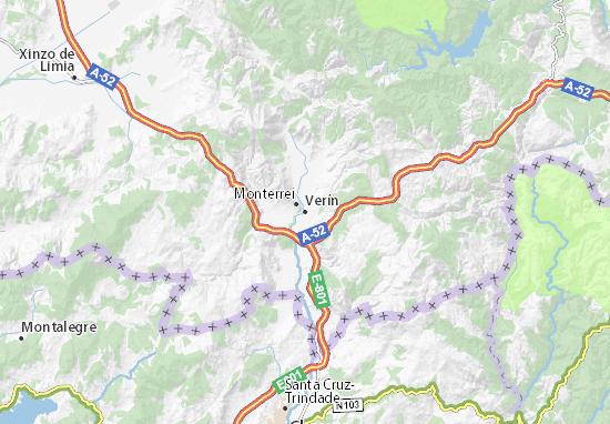 Mapa Vern  plano Vern  ViaMichelin