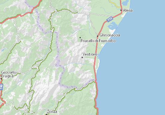 Ventiseri Map