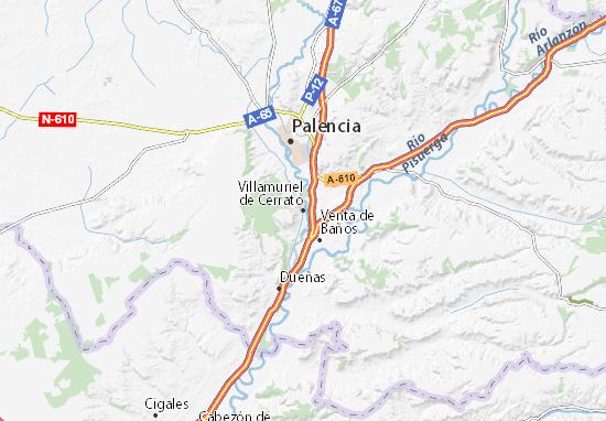 Mapas-Planos Villamuriel de Cerrato