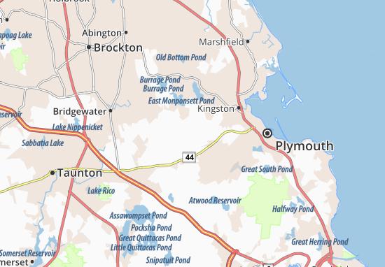 Carte-Plan Plympton