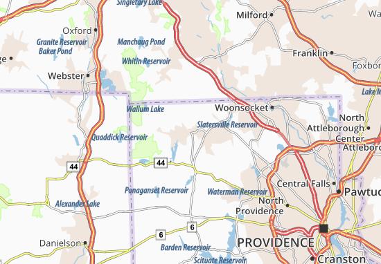 Harrisville Map