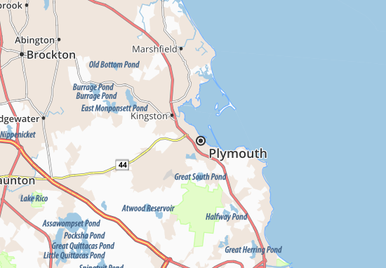 North Plymouth Map