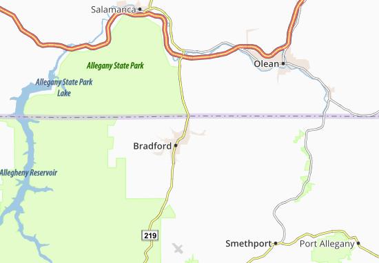 Foster Brook Map