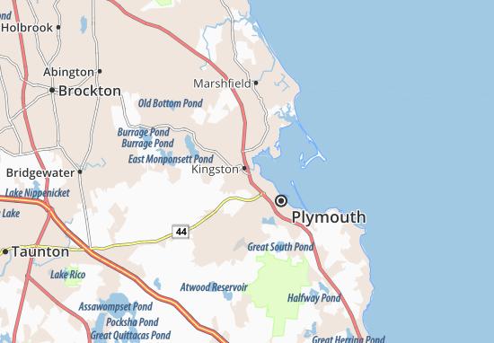Mapas-Planos Kingston