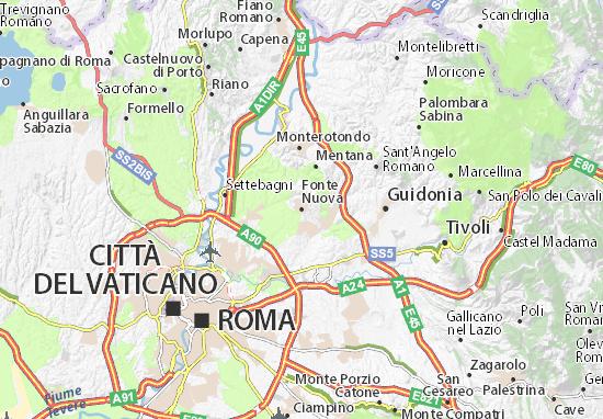 Mappe-Piantine Fonte Nuova