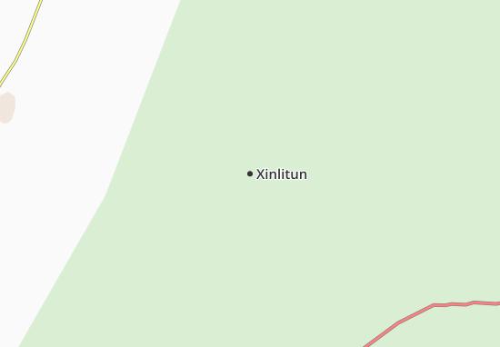 Kaart Plattegrond Xinlitun