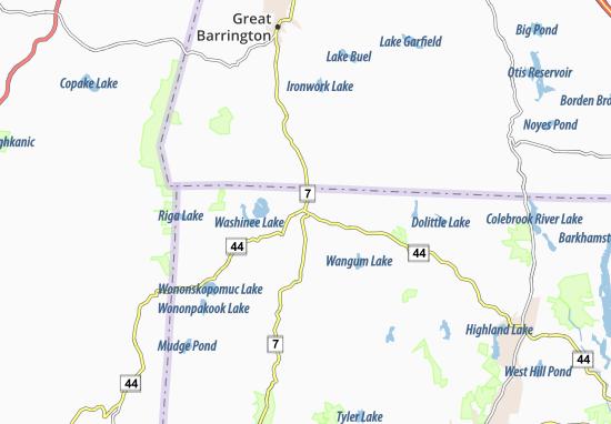 map of canaan michelin canaan map viamichelin