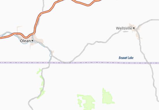 Little Genesee Map