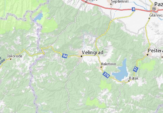 Mapas-Planos Velingrad